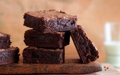 Sliced brownies